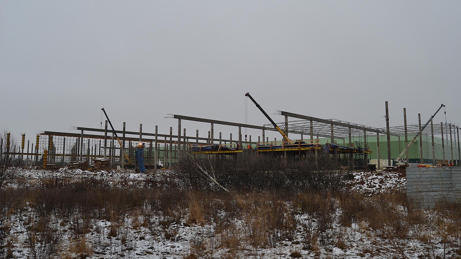 Новые очистные сооружения в индустриальном парке «Ворсино»