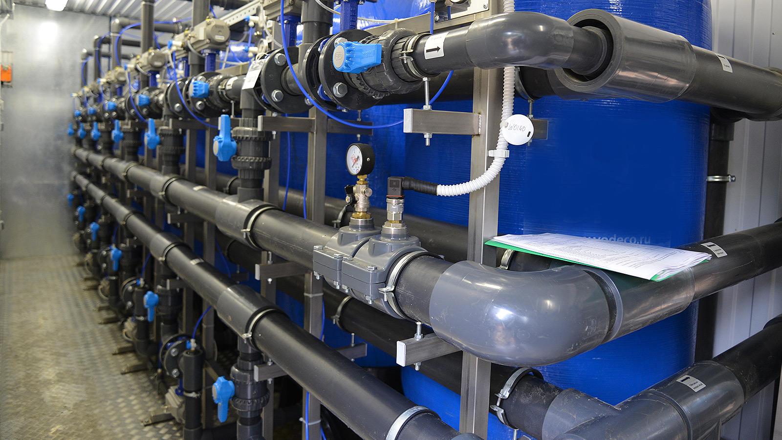 В Можайском районе открыта новая станция обезжелезивания воды