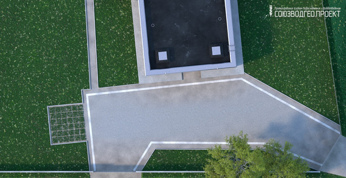 ТРК «Леденцовопарк» и близлежащая жилая застройка